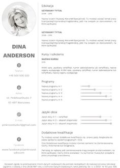CVDesignR is a simple online tool for creating CVs in PDF format, offering a wide range of both standard and design templates, enabling you to create a great CV yourself! Resume, Self, Cv Design