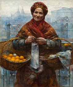 Aleksander Gierymski, Żydówka z pomarańczami - Aleksander Gierymski - Wikipedia
