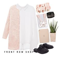 """#Frontrowshop"" by credentovideos ❤ liked on Polyvore featuring Front Row Shop, Black Apple and PLANT"