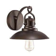 - Overview - Details - Why We Love It - O'Neal represents top-notch vintage-industrial style. Do your bathroom a solid and bring historic charm and warmth to the space with this rad wall light. - Back