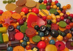 Bakelite Buttons by lorimarsha, via Flickr
