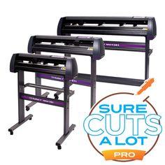 USCutter MH Series Vinyl Cutter w/ Sure Cuts A Lot Pro  Design & Cut Software