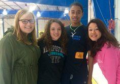 With friends :) Student, Usa, Friends, T Shirt, Tops, Women, Fashion, Moda, Tee Shirt