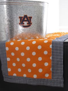 Table cloth runners....would have to make mine alabama