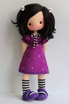 Best 12 free diy doll pattern More – SkillOfKing. Pretty Dolls, Cute Dolls, Beautiful Dolls, Diy Doll Pattern, Doll Patterns, Homemade Dolls, Sewing Dolls, Waldorf Dolls, Soft Dolls
