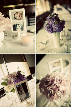 Inside the Mind of a Wedding Designer: Ava's {Lilac & Warm Gray} Vintage Baptism Reception Christening Party, Baptism Party, Baby Christening, Baby Party, Baptism Ideas, Christening Centerpieces, Baptism Decorations, Party Centerpieces, Wedding Decorations