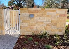 Aussietecture natural stone supplier has a unique range natural stone products for walling, flooring & landscaping. Sandstone Cladding, Sandstone Wall, Natural Stone Wall, Natural Stones, Landscape Design, Garden Design, Stone Supplier, Wall Cladding, Stone Work