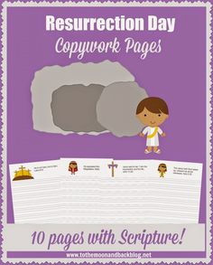 FREE Easter Copywork Pages - Frugal Homeschool Family