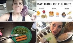Woman tries to survive on a MILITARY diet for a week