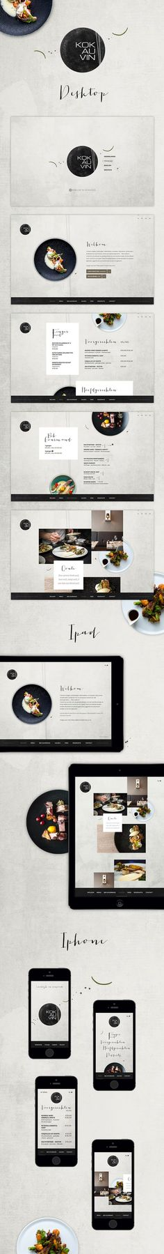 "New #website for #restaurant ""Kok au Vin"" in Bruges. http://www.kok-au-vin.be:"