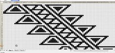 Black and white kanaa Boho Tapestry, Tapestry Bag, Tapestry Design, Tapestry Crochet Patterns, Crotchet Patterns, Crochet Chart, Crochet Stitches, Crochet Designs, Knitting Designs