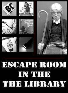 Tween Programming-Escape Room in the Library - De Lego-bibliothecaris Library Games, Library Book Displays, Teen Library, Library Events, Library Activities, Activities For Teens, Library Books, Library Week, Classroom Activities