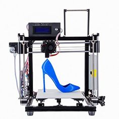 HICTOP 24V Upgraded 3D Printer Prusa I3 Auto Leveling Filament Monitor Desktop DIY Kits Aluminum