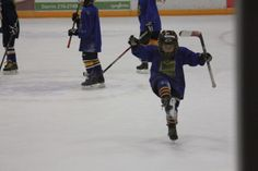 """""""Untitled"""" Photographer is Daydrea Nelson. Photo was taken on 01/11/14 in Odde Ice Arena, Aberdeen, SD. Photo is of Youth Hockey for Aberdeen Cougars in the youth division of Squirts. Player in the photo are Dylan Ortmier — at Odde Ice Arena."""