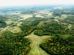 The unique geology of Wisconsin's Driftless region...where I happen to live.