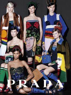 PRADA Spring Summer 2014 Campaign 00 620x831 Prada S/S 2014 | Anna Ewers, Cindy Bruna e mais por Steven Meisel  [Full Campaign]