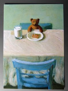 michael sowa's bear with toast?
