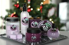 Sprinkles on a cupcake: The Body Shop - Frosted Plum