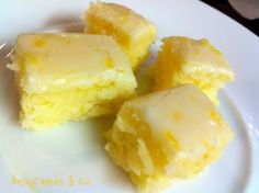 Lemony Lemon Brownies | I love Brownies, but it's different brownies i ever made.