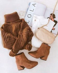 Winter outfit collection 🌤☃️ uploaded by Sarah ♡ Cute Fall Outfits, Winter Fashion Outfits, Fall Winter Outfits, Autumn Winter Fashion, Stylish Outfits, Looks Chic, Looks Style, Winter Mode, Girls Fashion Clothes