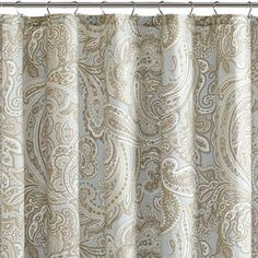 Buy JQueen New York Luxembourg Fabric Shower Curtain From Bed Bath Beyond YorkTM
