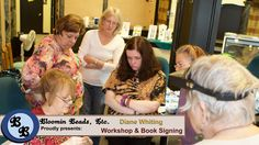 Well it's #Monday and we have some great shots from this past weekends Workshop and Book Signing with Diane Whiting! Stay tuned throughout the day for updates! #Event #pics #fun