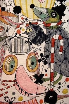 Jaime Hayon tapestry