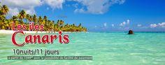 Les îles Canaris.Tenerife(Puerto de la Cruz) Tarifs : Par personne dans une chambre double : 10 nuitées /11 jours 3* a partir 1600 dt(Les hôtels :Marquesa, Marte)  4* a partir 1800 dt(Les hôtels : Trianfbor,Sol Puerto Playa) 5* a partir 2400 l'hôtel Semirami)