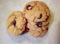 Not that I have anything against cookies made of flour or flour in general. I just think that if I'm going to splurge on a dozen cookies, t. Almond Flour Biscuits, Meals For One, Chocolate Chip Cookies, Chips, Healthy, Desserts, Recipes, Free, Tailgate Desserts