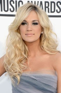 Beautiful hair and makeup on Carrie Underwood!!! #beauty #makeup #hair