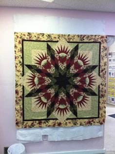 Summer Solstice ~ Quiltworx.com, made by Karrie Youngblood