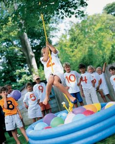 Obstacle Course Party - Set up an obstacle course in your backyard filled with challenges of pure fun.