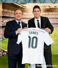 La Llegada De James Al Real Madrid