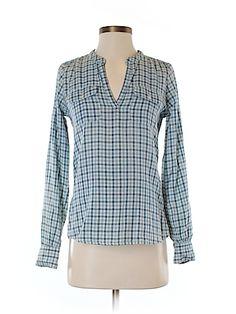 Lucky Brand Women Long Sleeve Blouse Size XS