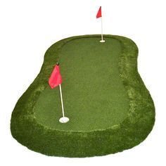 Shop SYNLawn Golf practice putting greens and fairway golf hitting mats for the best in portable practice products you can use virtually anywhere.