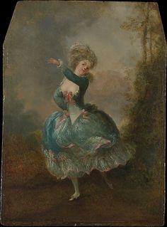 Jean Frédéric Schall (French, 1752–1825). Dancer. The Metropolitan Museum of Art, New York.  Gift of Mrs. William M. Haupt, from the collection of Mrs. James B. Haggin, 1965 (65.242.8) #dance