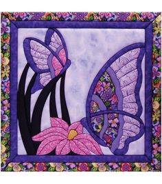 """Butterfly Quilt Magic Kit-15-1/2""""X15-1/2"""""""