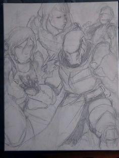 Sketch in class