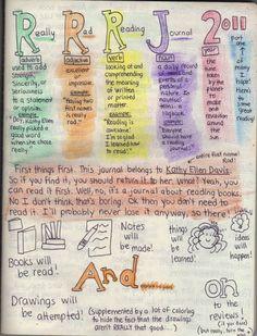 Meet Reading journal! « Reading Journal!