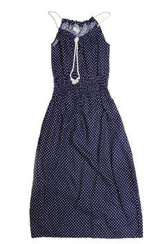 Lyra Blue Polka Dress - @bridgeandburn  - Portland, Oregon