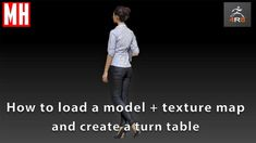 ZBrush 4R8 tutorial : How to load an OBJ model & existing texture map