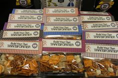 build your own transformer snack - gf pretzels, puffs, cheese crackers Birthday Party Snacks, 6th Birthday Parties, Birthday Ideas, Rescue Bots Birthday, Transformers Birthday Parties, Transformer Birthday, Party Themes For Boys, Ideas Para Organizar, Fourth Birthday