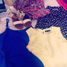 Few bits I picked up this Summer from New Look & various charity shops!