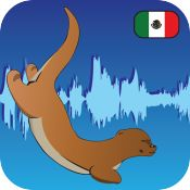 Learn Spanish with speech recognition - Otterwave iOS Universal Education Free was 2.99 Own Want Buy Practice speaking spanish by reading conversations. The app is able to judge your pronunciation and help you speak better Spanish.  It is important to minimize background noise.   Once you speak a sentence you are able to swipe over the audio wave form and tap on the word sections to see how you performed on specific words.   14MB
