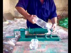 Prototipo de trituradora de botellas PET - YouTube