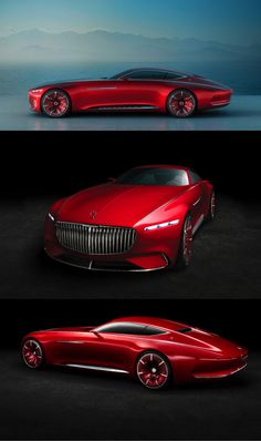 "The 2016 Vision Mercedes-Maybach 6 Coupe concept featured an extended, round ""boat tail"" rear treatment reminiscent of a luxury yacht (Credit: Mercedes-Maybach)"