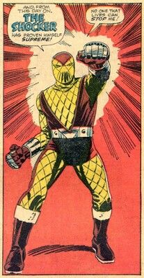 Shocker What Makes A Hero, The Shocker, Greatest Villains, Spiderman, Original Artwork, Marvel, Fan Art, Superhero, Comics