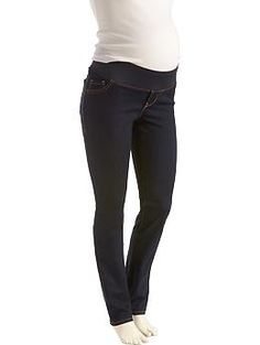 Maternity Low-Panel Skinny Jeans   Old Navy