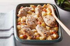 Chicken, Potato and Vegetable Bake recipe