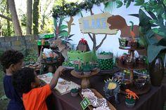 DetailedDecor's Birthday / Dinosaurs - Photo Gallery at Catch My Party 5th Birthday Boys, Dinosaur Birthday Party, Summer Birthday, Birthday Party Decorations, Birthday Parties, Circus Carnival Party, Lego, Party Ideas, Dinosaurs